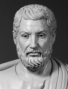 This is Cleisthenes. He is credited for founding Ancient Greek's democracy, which was the world's first democracy.