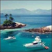 """Angra dos Reis is one of the most beautiful places in Brazil. It consists of 365 islands and 2,000 beaches. The main attraction is """"Ilha Grande"""", the largest island which once was a pirate haven, now it is is known as a great place for camping and hiking. The island, surrounded by 106 beaches, mountains and incredible waterfalls, is a perfect place for trekking and camping. Located 155km from Rio de Janeiro, it is spread in an area of 819 square km. It has 4 districts which are: Angra,.."""