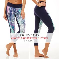 Fabletics May New Release Fitness Apparel | Cute tights | Sport Bras | Workout shorts | Tank Tops @ http://www.FitnessApparelExpress.com