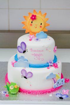 Children's Birthday Cakes - Shower cake inspired by the baby's room decor