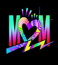 To all the Moms out there: Happy Mothers Day! I am sure I can speak for most of us when I say, I wouldn't be ME without YOU! Thank you for all you've done and continue to do every day for me. Paper Wallpaper, Love Wallpaper, Colorful Wallpaper, Galaxy Wallpaper, Graffiti Wall Art, Graffiti Alphabet, Tinta Neon, Dope Cartoon Art, Font Art