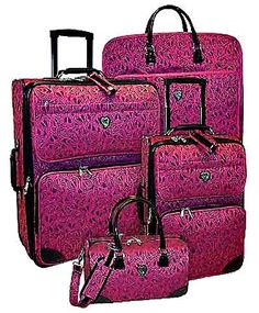 Diane Von Furstenberg Signature Seven 4 Piece Luggage Set | My ...