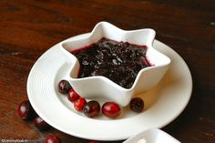 Cranberry saus met rode wijn - Lovemyfood.nl
