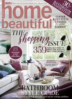 Home Beautiful June 2019 Subscription Gifts, Specials Today, Melbourne House, Interiors Magazine, Garden Show, Beautiful Cover, Updated Kitchen, Fabulous Foods, Reading Nook
