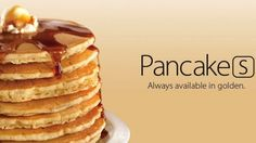 """Denny's pokes fun at #Apple iPhone 5s """"Pancakes[s] Always available in golden."""""""