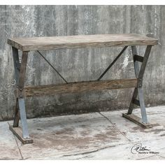 Found it at Wayfair - Makoto Industrial Console Table