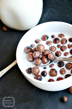 Wow, really? Yum!! --> Homemade Cocoa Puffs