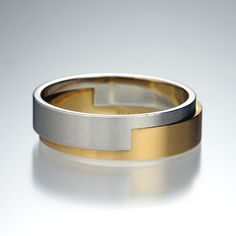 Quadrum - Henrich + Denzel - Platinum and Rose Gold Ring