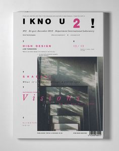 i kno u 2 ! on Inspirationde i kno u 2 ! on Inspirationde Graphic Design Brochure, Modern Graphic Design, Graphic Design Inspiration, Branding Design, Typography Layout, Graphic Design Typography, Graphic Design Illustration, Editorial Layout, Editorial Design