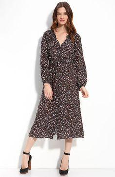 Presley Skye 'Lindsay' Silk Crepe de Chîne Dress available at #Nordstrom