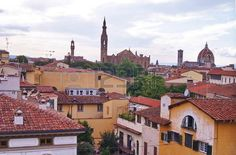View of Florence from Zecca tower, Tuscany, Italy