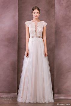 Divine Atelier 2015 Wedding Dresses — Nostalgia Bridal Collection   Wedding Inspirasi