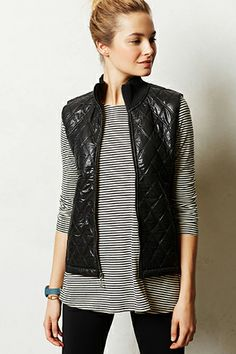 DIVA keeps on delivering !!  Zip Out The Cold With These 12 Puffer Vests #refinery29