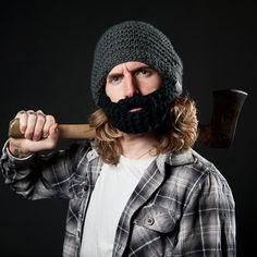 Bartmütze Beardo Grau-Schwarz, 23,90€, jetzt auf Fab.