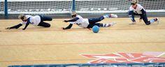 Goalball equipment available at http://www.bishopsport.co.uk/goalball.html