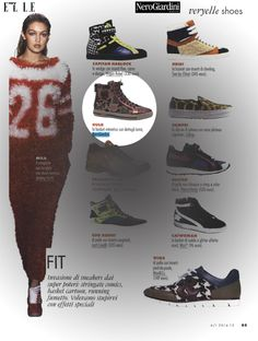 Very Elle Shopping - settembre 2014 #nerogiardini #sneakers