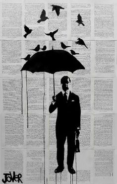 """Saatchi Online Artist Loui Jover; Drawing, """"just a perfect day"""" #art"""