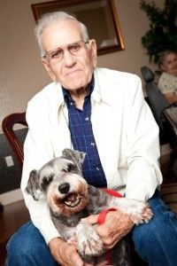Health Benefits of Pets for Alzheimer's Patients - Studies and research have found that having a pet in the house can supply special benefits for individuals with Alzheimer's or dementia. Patients experience less stress, and emotional outbursts may be less frequent. The soft touch of an animal can be a soothing influence. Pets are also able to interact nonverbally which can be comforting to someone whose communication skills are dwindling.