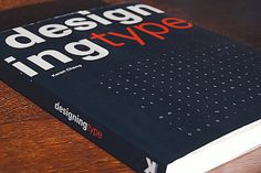 Un gran libro para los amantes de la tipografía.