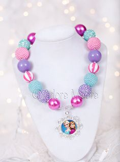 Hey, I found this really awesome Etsy listing at https://www.etsy.com/listing/187458707/princess-anna-frozen-necklace-disney