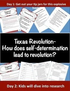 What if your students walked in and the unthinkable occurred...they had to pay taxes for everything they used to get for free? You want to sit in a desk?  Sorry that is a $1.  You have a question?  That will be $.50.  Once you get through the outrage, students will make an emotional connection to the plight of the Texas colonist under the Law of April 6th.