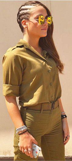 IDF - Israel Defense Forces Sexy Girl