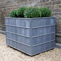 The Large Rectangular Lead Garden Planter - Architectural Heritage