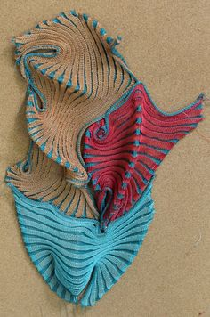 Iris Arad - taking knitting to an amazing art form
