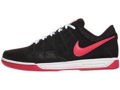 Nike Zoom Vapor 9 Club Canvas Bk/Red Men's Shoe