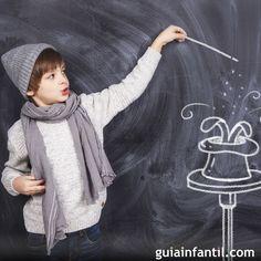 3 trucos de magia sencillos para niños.