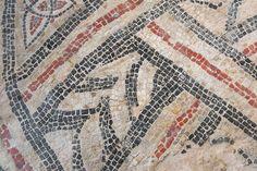 Mosaïque d'époque gallo-romaine provenant du quartier de la cathédrale, palais du Tau, Reims
