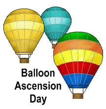 January 9th is National Balloon Ascension Day