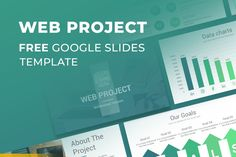 Web Project Proposal Free Google Slides Template Free Powerpoint Presentations, Powerpoint Presentation Templates, Free Keynote Template, Photo Report, Project Proposal, Web Project, Data Charts, Projects, Google