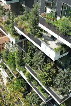Går det att få känsla av natur/trädgård i loftgångarna? Trots norrläge? För att undvika korridorskänsla...