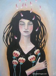 Peinture - Marina Le Floch - Songe intérieur