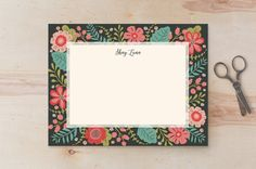Flowers Everywhere by Susan Moyal at minted.com