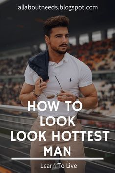 I give you all Possible ways to Look Hot. In this post step by step, I will explain to you all the things. So, you can be the Hottest guy in your Society Men Tips, Men Style Tips, Hot Men, Hot Guys, How To Look Attractive, Teenage Guys, Man Dressing Style, Waistcoat Men, Knights