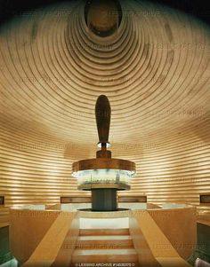 Shrine of the Book ~ Jerusalem, Israel with an exhibit of some of the Dead Sea Scrolls.