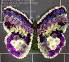 Terrific Photographs Funeral Flowers butterfly Strategies If you might be setting up or perhaps participating, funerals are invariably your sad and from time to time de. Funeral Flower Arrangements, Funeral Flowers, Floral Arrangements, Wedding Flowers, Butterfly Flowers, Summer Flowers, Funeral Sprays, Casket Sprays, Funeral Tributes