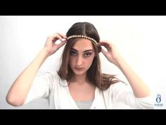 "ONTOP Barcelona - Step by Step Hairstyle Tips ""How to wear headbands"" - YouTube"