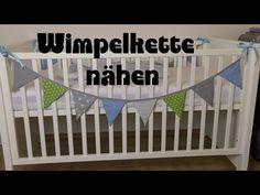 Wimpelkette nähen - Anleitung DIY - YouTube