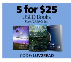 5 FOR $25 USED BOOKS | CODE: LUV2READ Business Sales, Going Out Of Business, Used Books, Discover Yourself, Coding, Entertaining, Funny, Programming