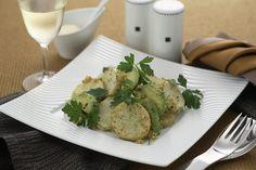 長芋とアボカドのソテー チーズ風味 | ニンニクとチーズの風味がシャキシャキの長芋にマッチ。