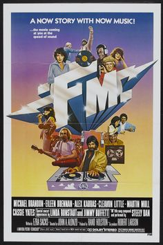 FM (1978) Stars: Michael Brandon, Eileen Brennan, Alex Karras, Cleavon Little, Martin Mull, James Keach, Norman Lloyd ~ Director: John A. Alonzo