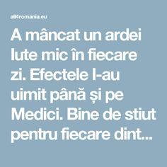 A mâncat un ardei Iute mic în fiecare zi. Efectele I-au uimit până și pe Medici. Bine de stiut pentru fiecare dintre noi! - All for Romania