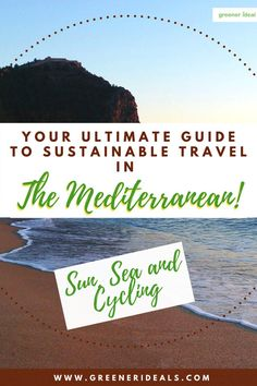 If you love to travel but also care about the environment, it can be difficult to strike a balance between the two. But Don't worry, checkout | Your Ultimate Guide To Sustainable Travel in The Mediterranean | Sustainable Travel Tips For All | Travel Green | Responsible Travel Guide For You | Ultimate Guide To Sustainable Travel | Wonderlust Travel | Insider Travel Tips | #Travel #wonderlust #TravelTips #SustainableTravel #GreenTravelTips