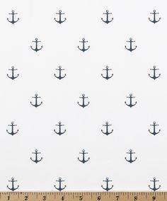 Premier Prints Mini Arrow White Premier Navy Twill Lined and Unlined Valances Cafe Curtains Custom Sizes Available