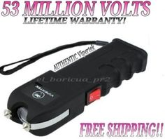 VIPERTEK VTS989  53 Million Volt Rechargeable Self Defense Stun Gun LED Light *** You can find out more details at the link of the image-affiliate link.