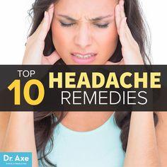Top 10 Headache Remedies. #Health #Holistic