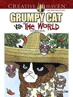 Creative Haven Grumpy Cat Vs. the World Coloring Book